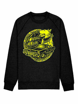 Свитшот Impala, Black - Yellow print - #8025066