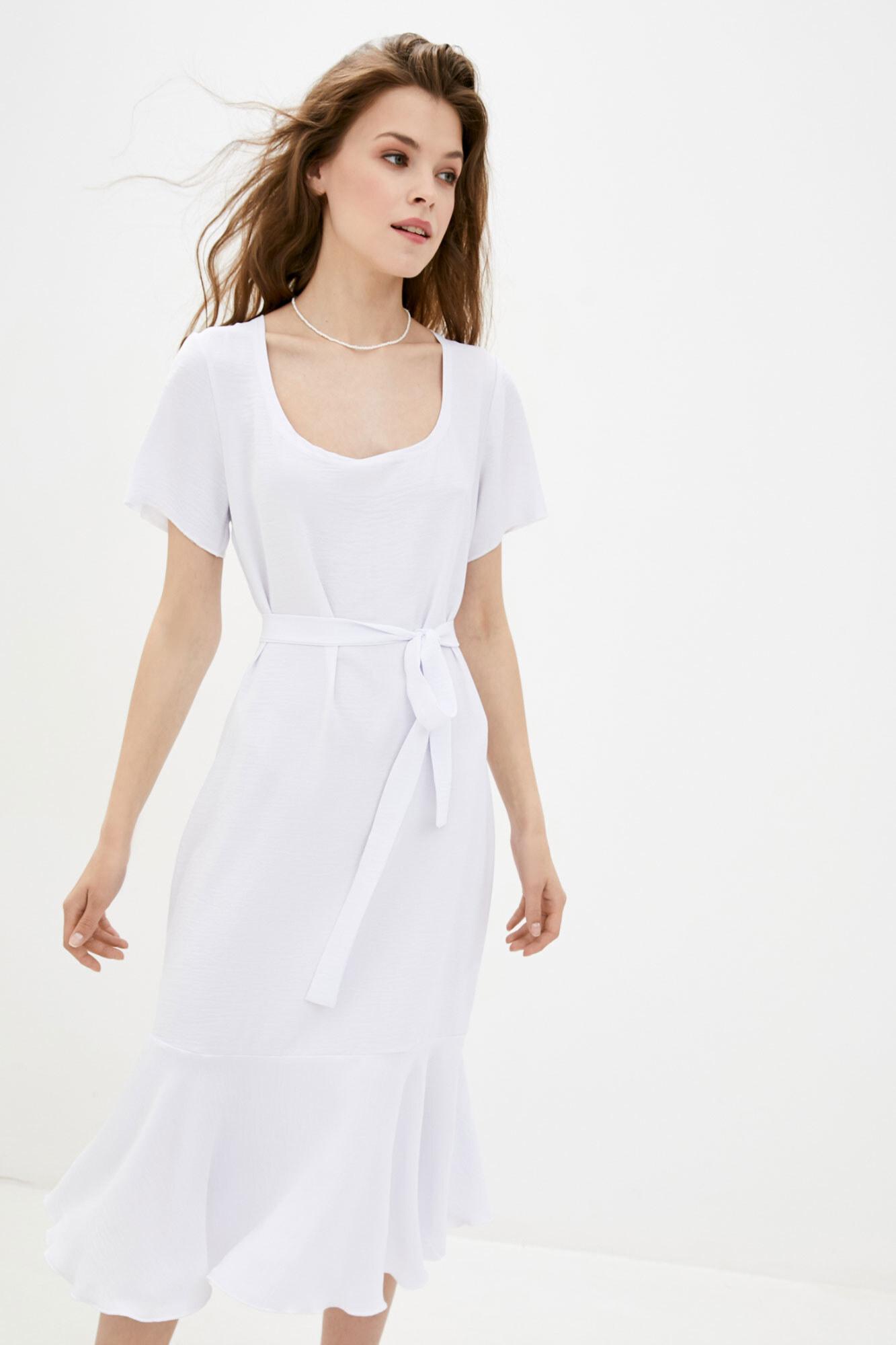 Платье белое MEGI GEN