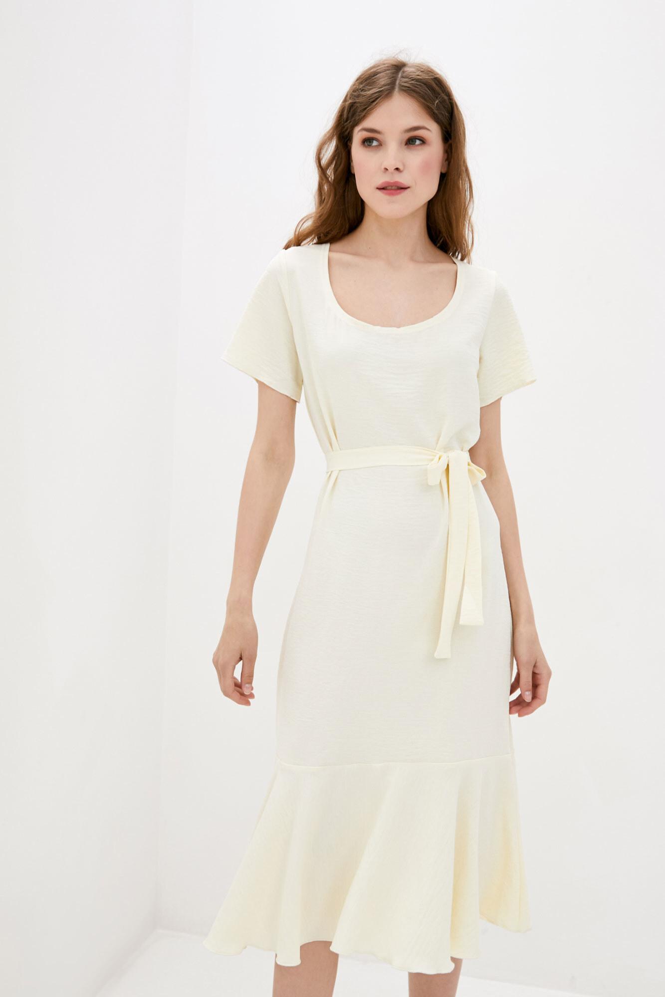 Платье светло желтое MEGI GEN