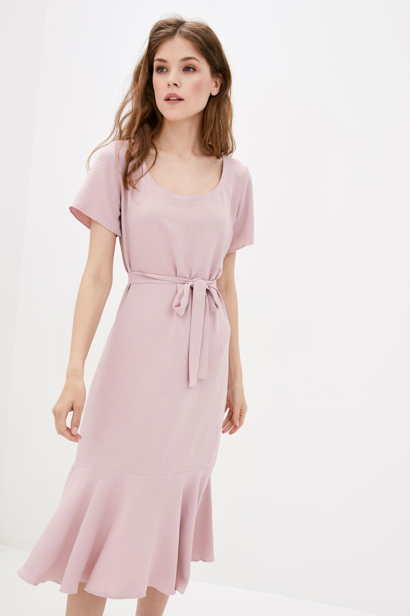 Платье пудровое MEGI GEN