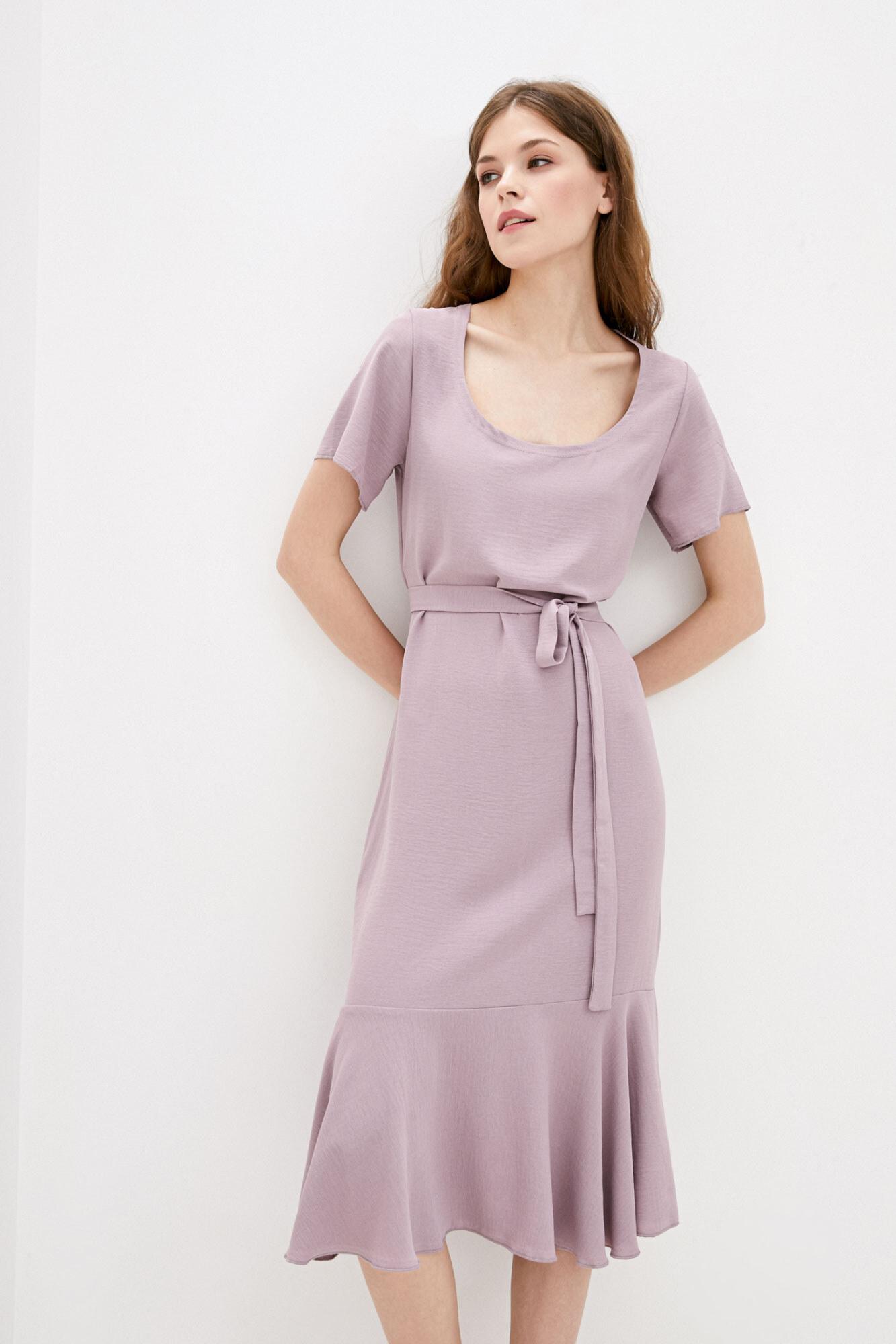 Платье лиловое MEGI GEN
