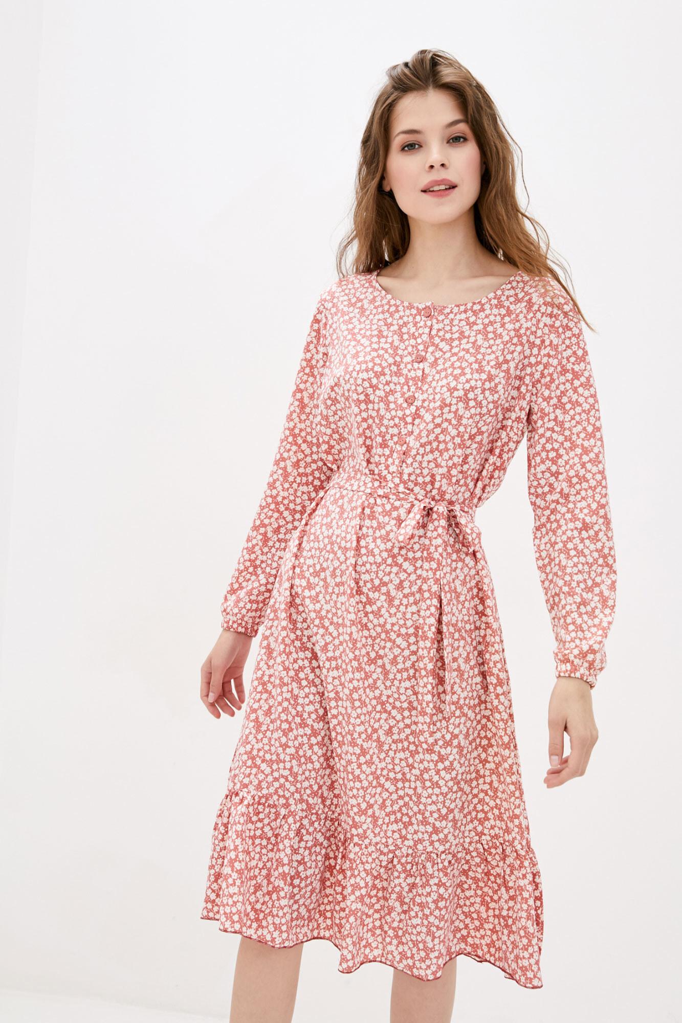 Платье SPIRIT короткое розовое GEN