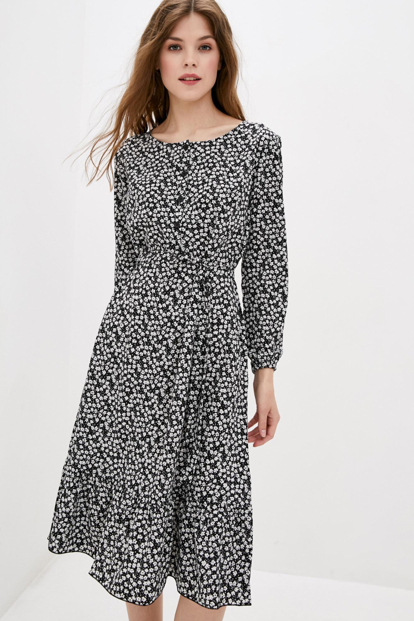 Платье SPIRIT короткое черное GEN