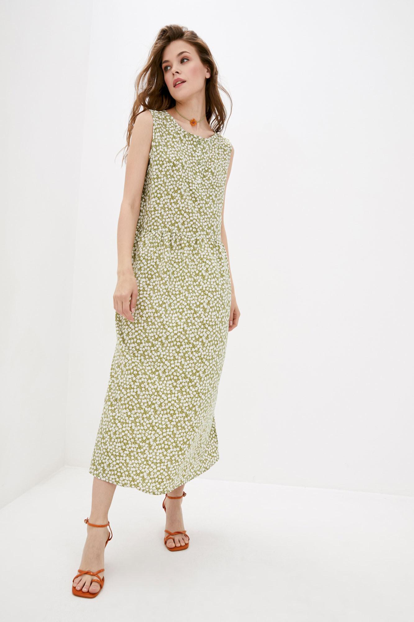 Платье зеленое BREEZE GEN
