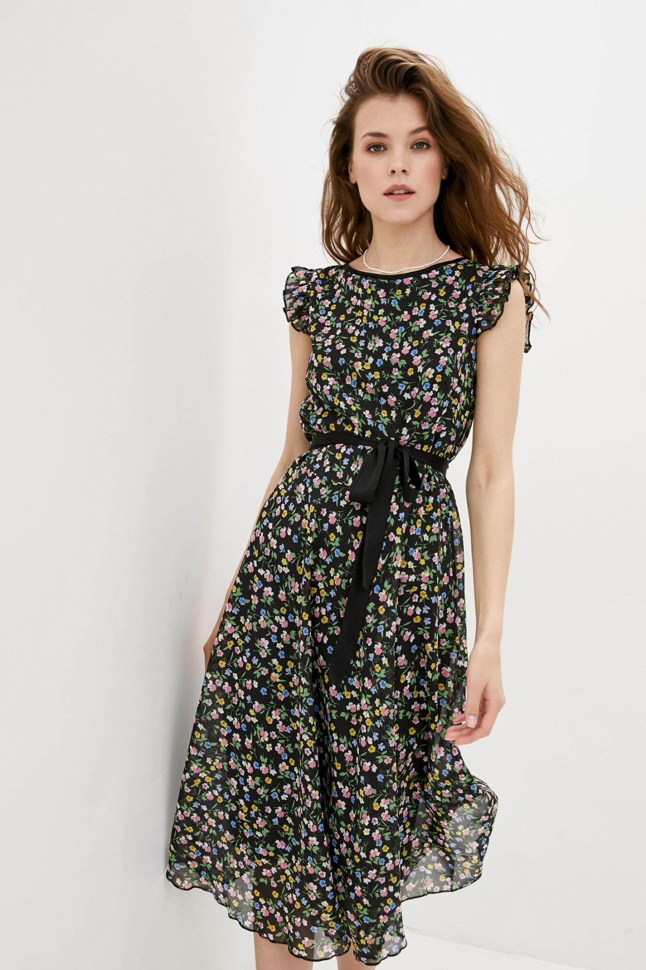 Платье RUBINA черное GEN