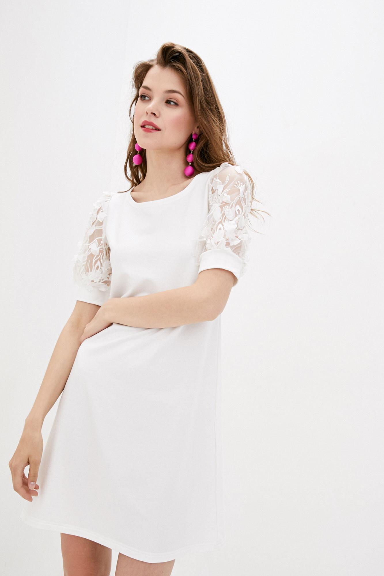Платье белое LATOY GEN