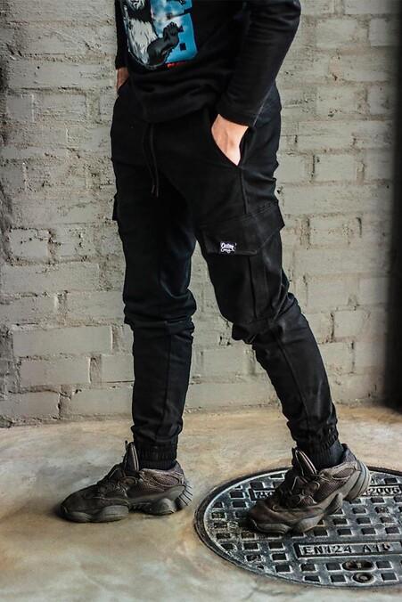 Коттоновые брюки абажур ткань ретро купить