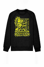 Свитшот Old Skool, Black - Yellow print - #8025070